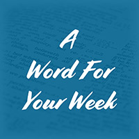 LMI's A word for your week devotional taken from Psalm 147:5