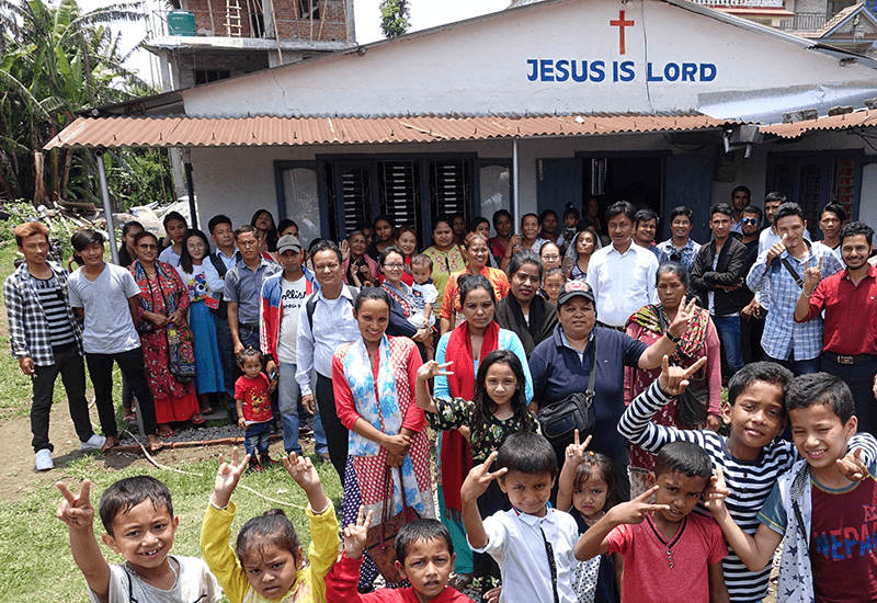 LMI supporting the church in Nepal through our Overseas Nepalese Partnership Project