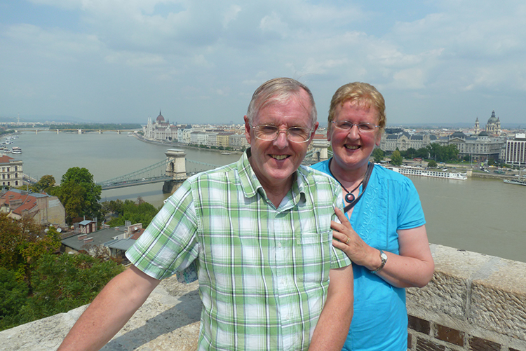 LMI's Lorna and Norman in Budapest